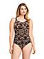 Shape-Badeanzug mit Bügel Gemustert SLENDER für Damen