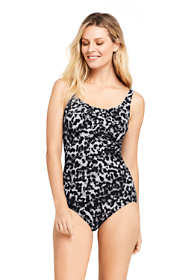 Women's Long Slender Carmela Underwire One Piece Swimsuit with Tummy Control Print
