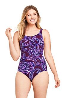 Women's Carmela Slender Swimsuit, Print - D Cup