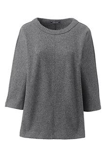 Women's Wool Blend Dolman Sleeve Jumper