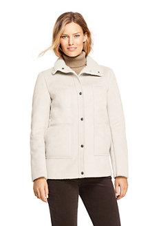 Jacke aus Fellimitat für Damen