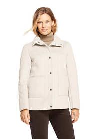 Women's Faux Shearling Barn Jacket