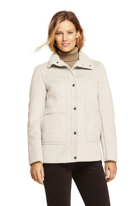 Women's Faux Shearling Barn Jacket