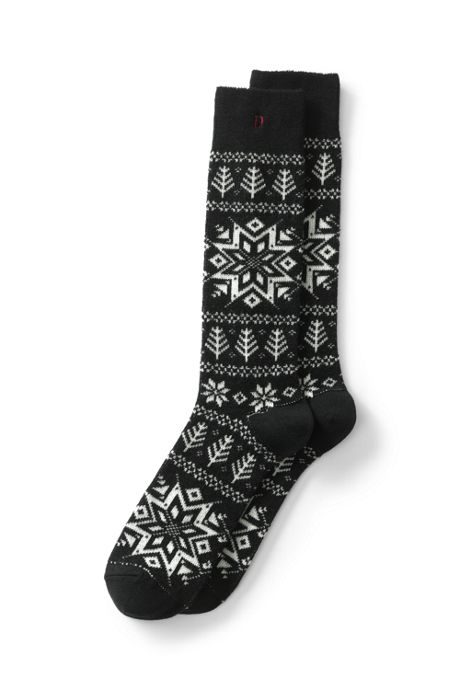 Men's Pattern Boot Socks