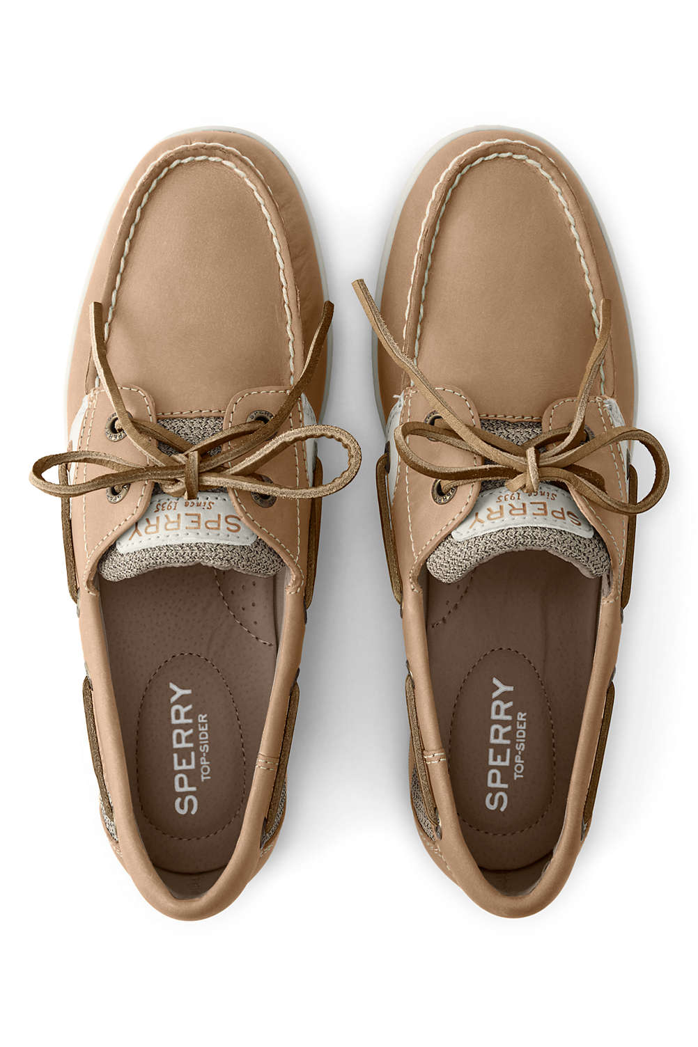 e8d95a5528cb School Uniform Women s Sperry Koifish Boat Shoes from Lands  End