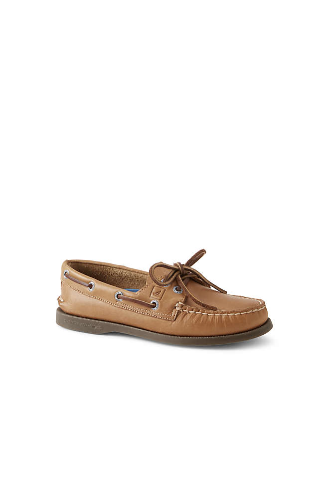 School Uniform Women's Sperry Authentic Original 2 Eye Boat Shoes, Front