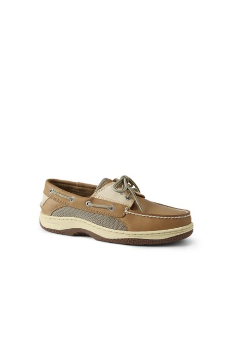 School Uniform Men's Wide Sperry Billfish 3 Eye Boat Shoes