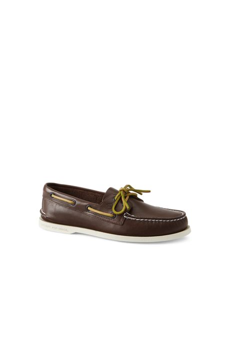 Men's Wide Sperry Authentic Original 2 Eye Boat Shoes