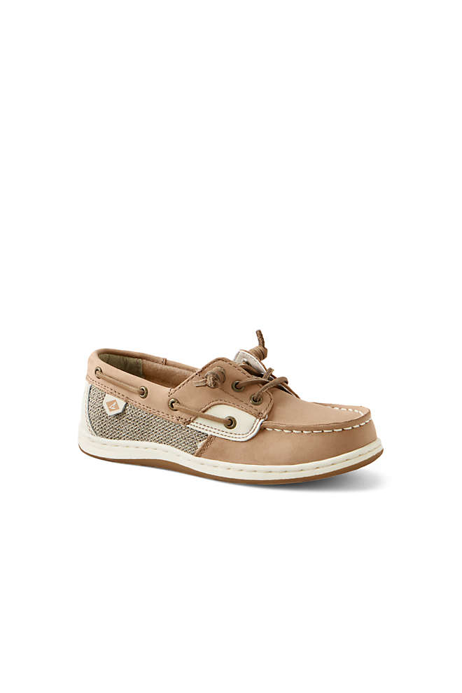 School Uniform Girls Sperry Songfish Boat Shoes, Front