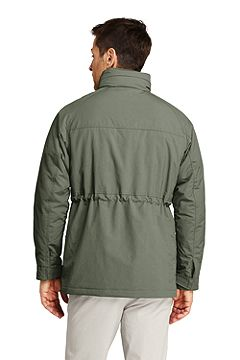 Traveler Cargo Parka 506457: Light Bay Leaf