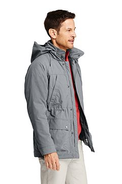 Traveler Cargo Parka 506457: Cement