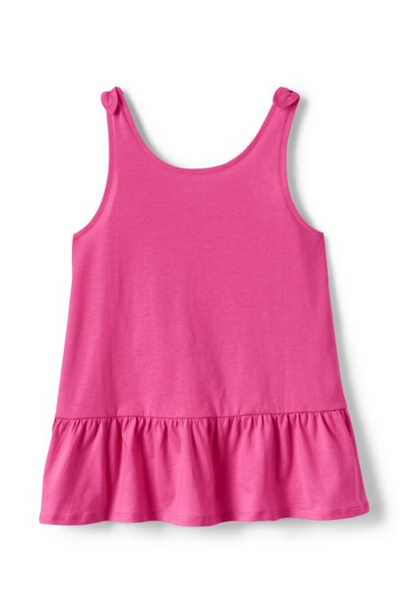 Toddler Girls Tie Shoulder Tank Top