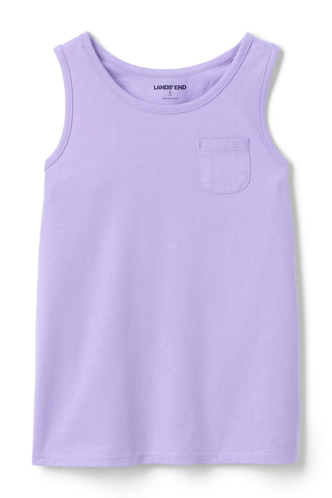 Girls Plus Size Tank Top, Front