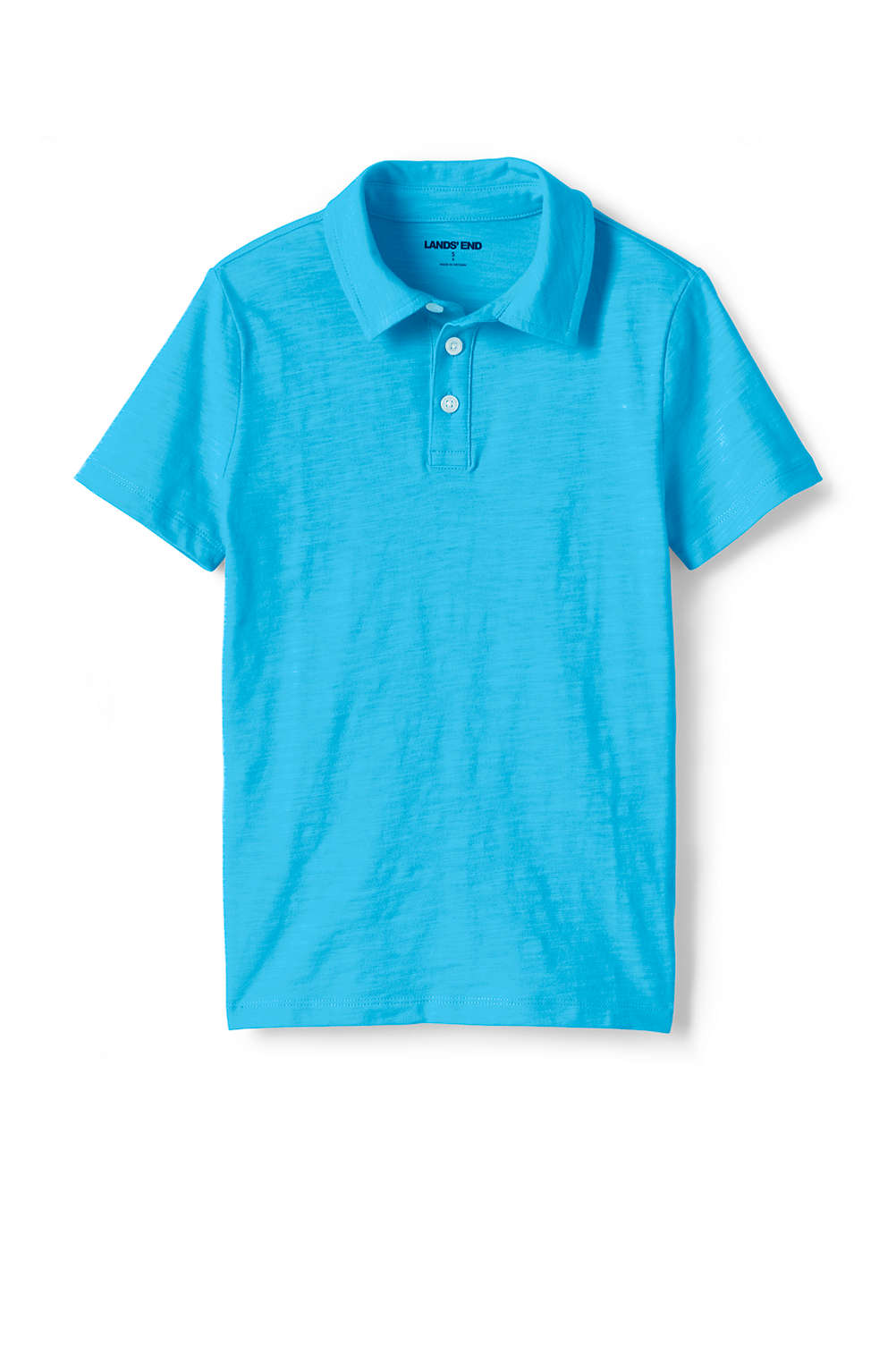 1a465ef10 Toddler Boys Solid Slub Polo Shirt from Lands' End