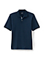 Men's Stretch Piqué Polo Shirt with Contrast Placket