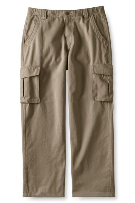 Men's Pre-hemmed Cargo Chino Pants