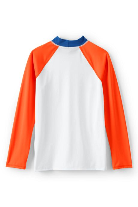Toddler Boys Colorblock Raglan Rash Guard