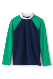 Boys Colorblock Raglan Rash Guard