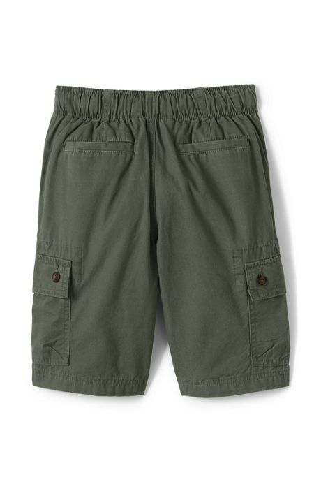 Boys Husky Pull On Cargo Shorts