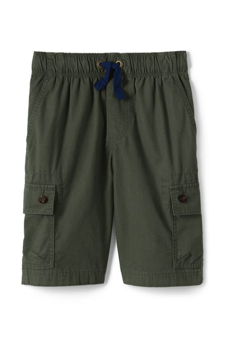 Boys Slim Pull On Cargo Shorts
