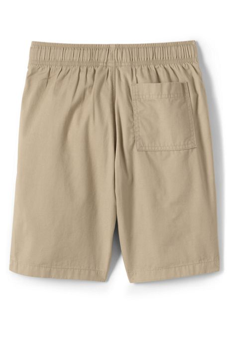 School Uniform Boys Husky Pull On Shorts