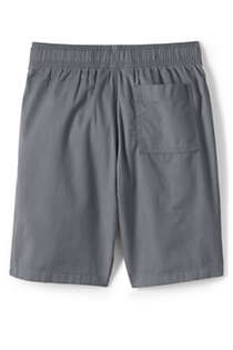 School Uniform Little Boys Slim Pull On Shorts, Back