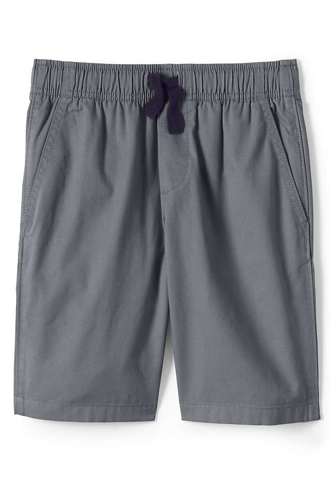 School Uniform Little Boys Slim Pull On Shorts, Front