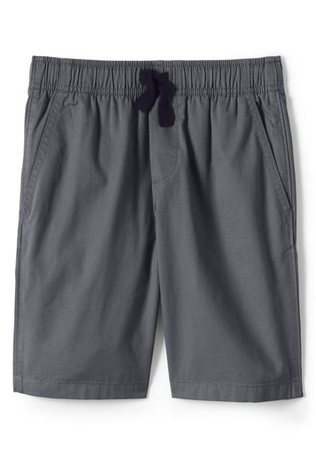 School Uniform Little Boys Slim Pull On Shorts