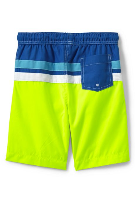 Boys Husky Colorblock Swim Trunks