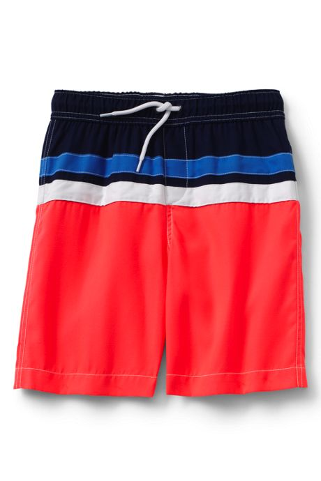 Little Boys Colorblock Swim Trunks