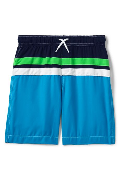 Boys Colorblock Swim Trunks