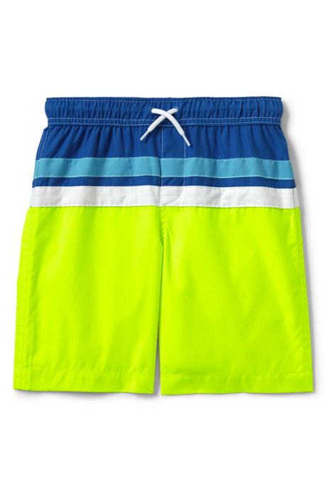 Boys Husky Colorblock Swim Trunk