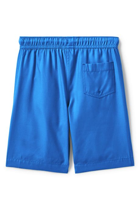 Boys Husky Solid Swim Trunks