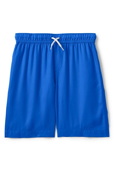 Little Boys Solid Swim Trunks