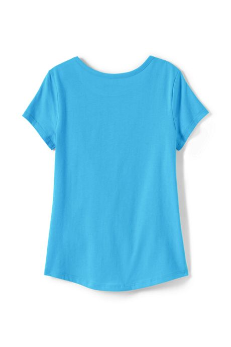 Little Girls Solid Knit Tee