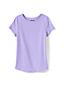 Toddler Girls' Short Sleeve Cotton T-shirt