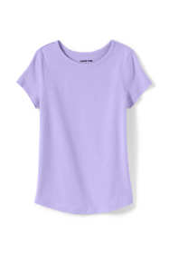 Girls Solid Knit Tee
