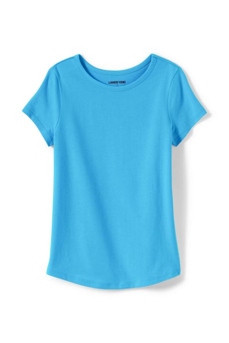 Girls Plus Solid Knit Tee