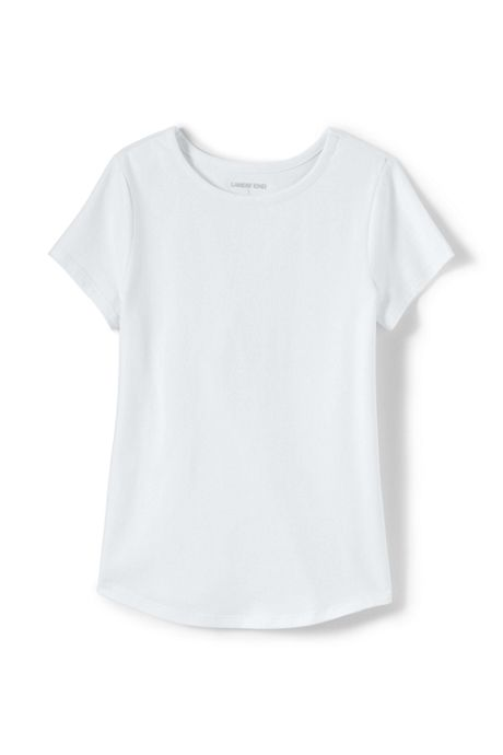 Toddler Girls Solid Knit Tee