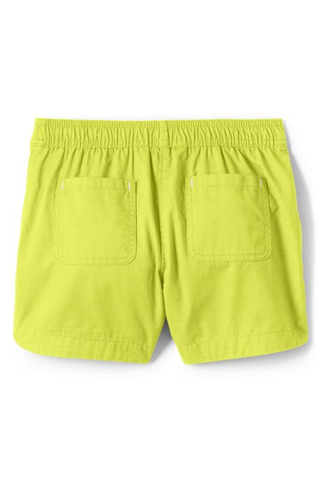 Toddler Girls Pull On Solid Shorts