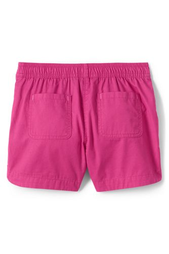 Girls Plus Pull On Solid Shorts