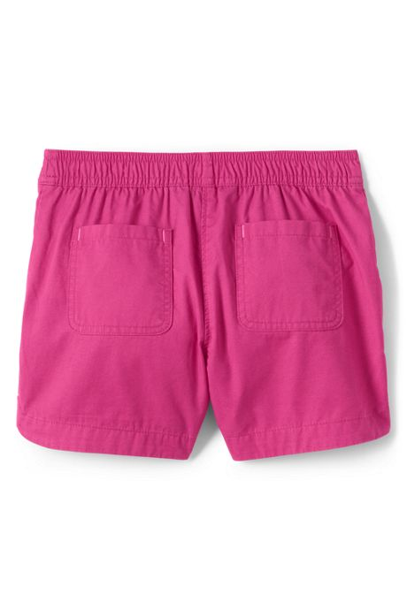 Little Girls Pull On Solid Shorts