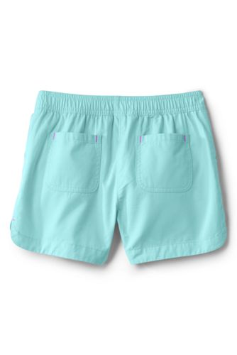 Girls Pull On Solid Shorts