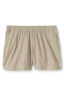 Baumwoll-Shorts mit Schlüpfbund für Mädchen