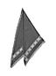 L'Écharpe Triangulaire Flocons de Neige, Femme