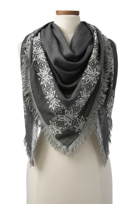 Women's Triangle Scarf