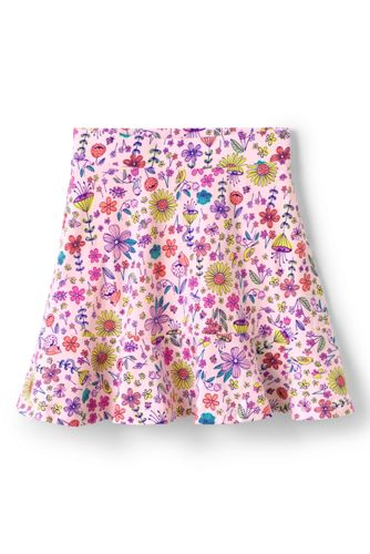 Toddler Girls' Drop Waist Patterned Jersey Skort