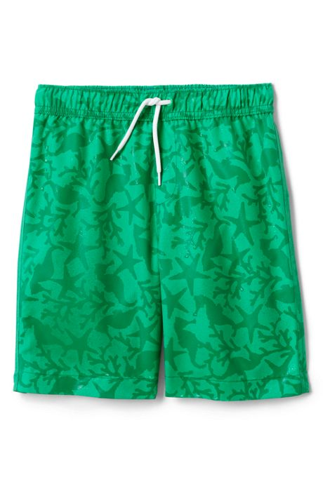 Little Boys Magic Print Swim Trunks