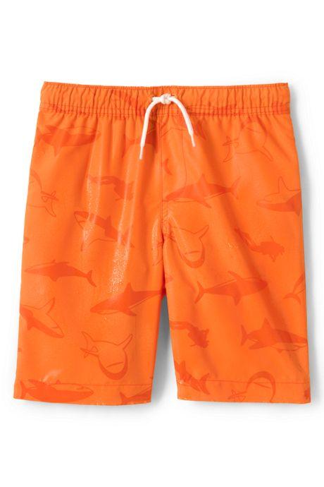 Little Boys Magic Print Swim Trunks