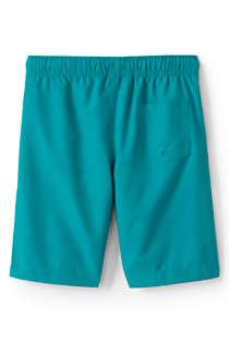 Lands End Little Girls Comfort Waist Magic Print Swim Shorts